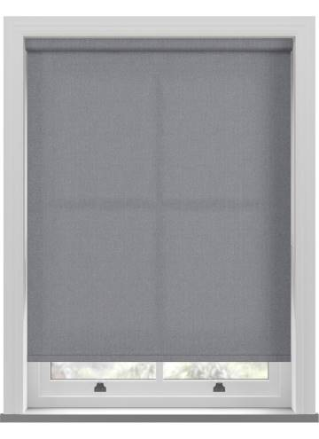 Electric Roller Blinds Umbra Denim Blue