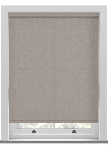 Electric Roller Blinds Umbra Taupe Brown