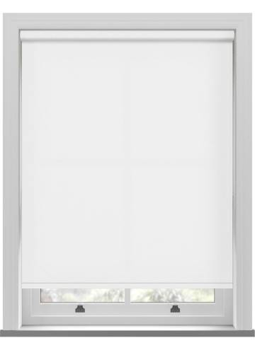 Electric Roller Blinds Umbra White