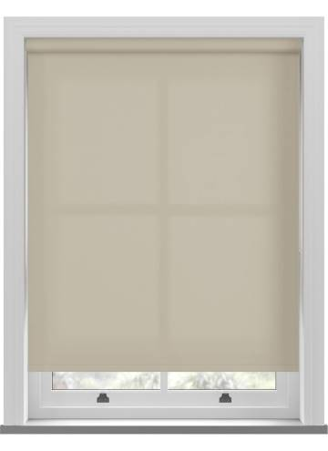 Electric Roller Blinds Unicolour FR Beige