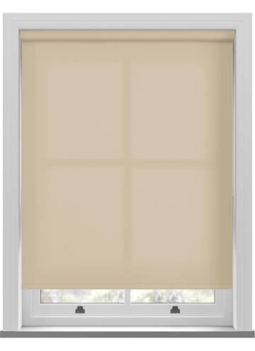 Electric Roller Blinds Unicolour FR Light Cream