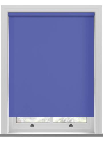 Electric Roller Blinds Unilux PVC Blackout Surf Blue