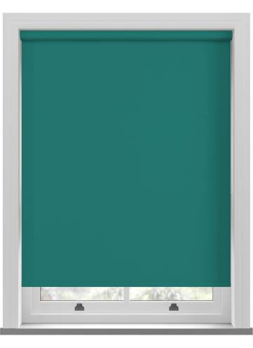 Electric Roller Blinds Unishade Blackout FR Glade Green