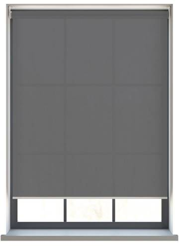 Electric Roller Blinds Uniview 1300 Stellar Black/Grey
