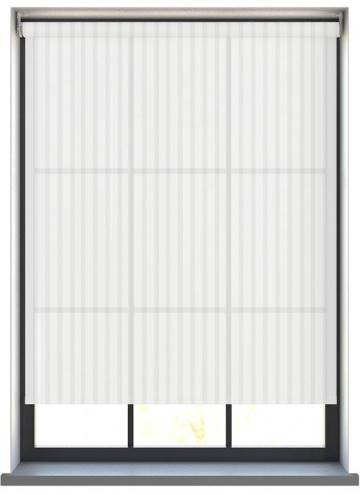 Electric Roller Blinds Vesper Snow