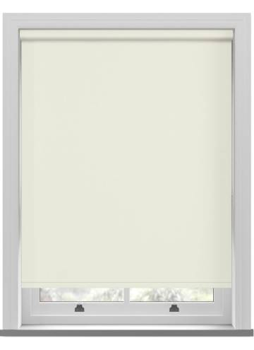 Electric Roller Blinds Vitra Blackout Cream