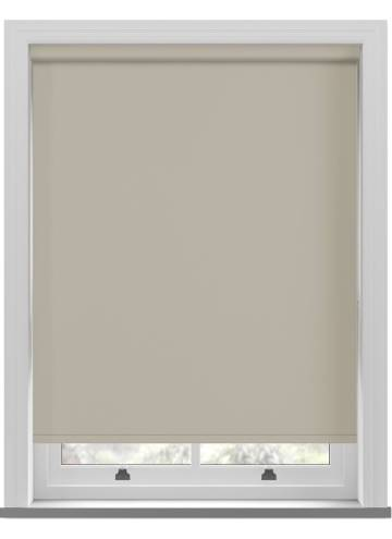 Electric Roller Blinds Vitra Blackout Ecru