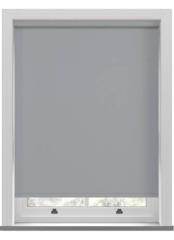 Electric Roller Blinds Vitra Blackout Grey