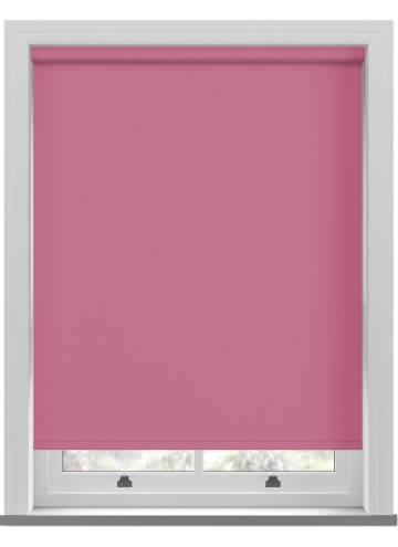 Electric Roller Blinds Vitra Blackout Kitty Pink