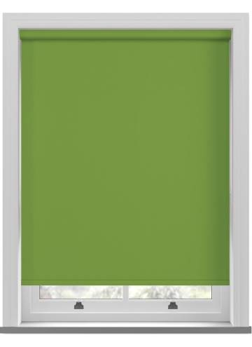 Electric Roller Blinds Vitra Blackout Lime Green
