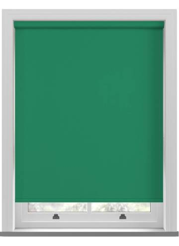 Electric Roller Blinds Vitra Blackout Sea Green