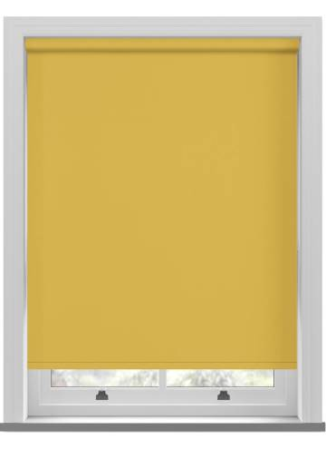 Electric Roller Blinds Vitra Blackout Sunburst Yellow
