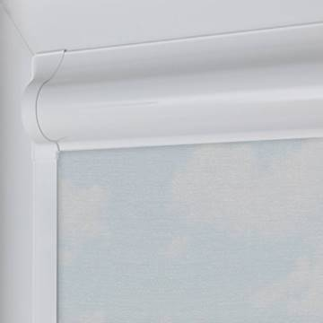 Perfect Fit Roller Blinds Mood FR Voile Cosmic Grey
