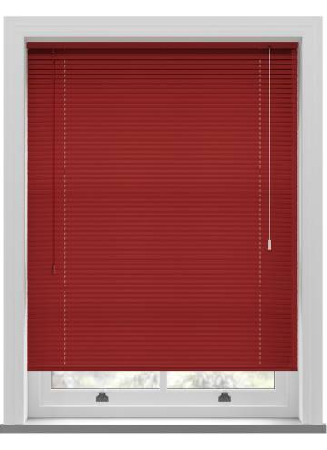Venetian Blinds Turin 25mm Metallic Red
