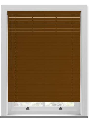 Venetian Blinds Wood Grain Effect 50mm Oak TR9945