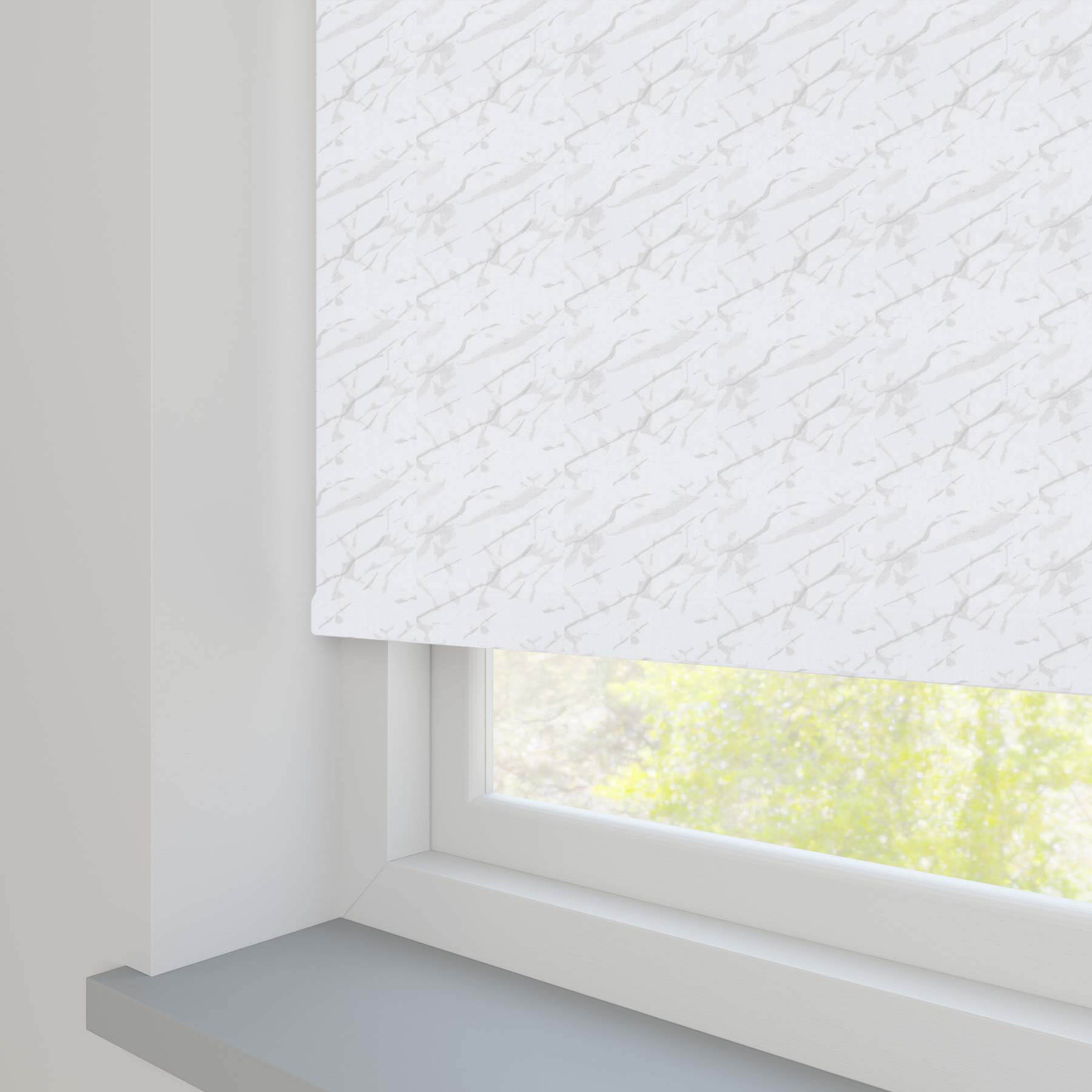 Sahara PVC Blackout White
