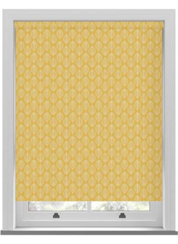 Roller Blinds Boheme PVC Blackout Summer Yellow