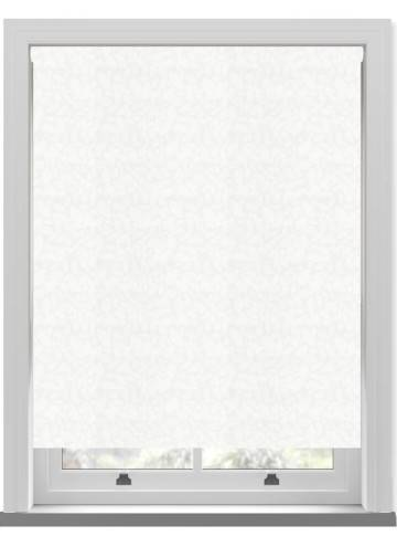 Roller Blinds Isla PVC Blackout Whisper White