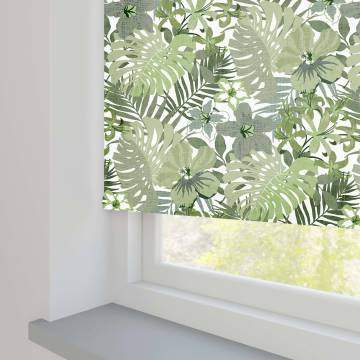 Roller Blinds Lush Jungle Green