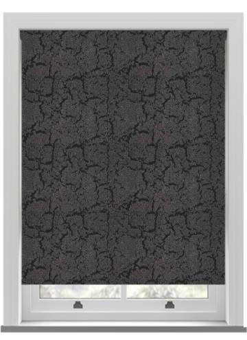 Roller Blinds Metz PVC Blackout Black