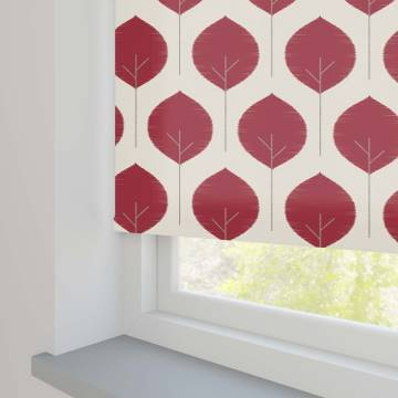 Roller Blinds Musa Chilli Red