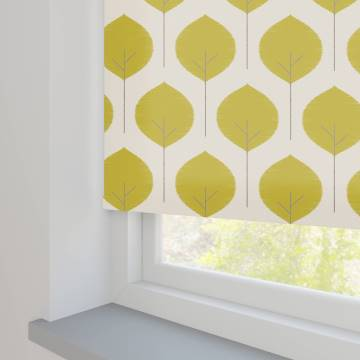Roller Blinds Musa Saffron Yellow