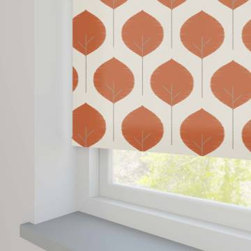Roller Blinds Musa Tigerlily Orange