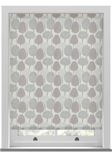 Roller Blinds Othello Script Grey