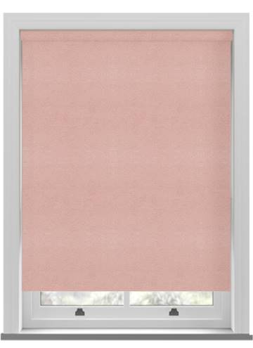 Roller Blinds Suede Blackout Dusky pink