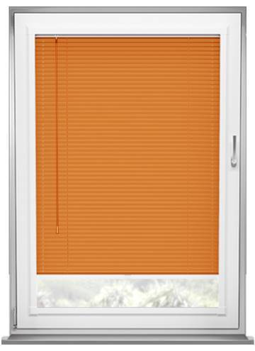 Perfect Fit Venetian Blinds Turin 25mm Brushed Orange
