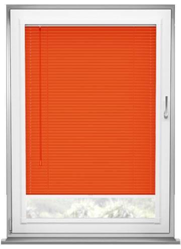 Perfect Fit Venetian Blinds Turin 25mm Flame Orange