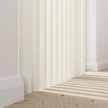 Rigid PVC Vertical Blinds Amari Blackout Cream Rigid PVC