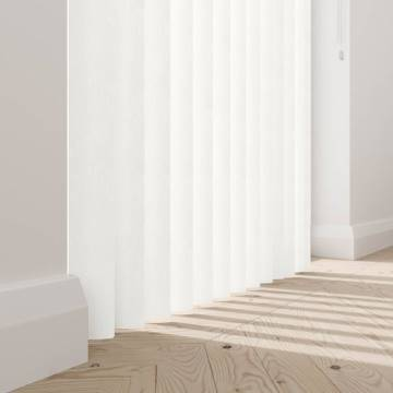 Rigid PVC Vertical Blinds Carerra Blackout Cream Rigid PVC