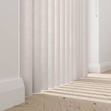 Rigid PVC Vertical Blinds Serino Blackout Luna Rigid PVC