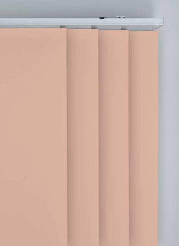 Panel Blinds Bella Blackout Blush Pink