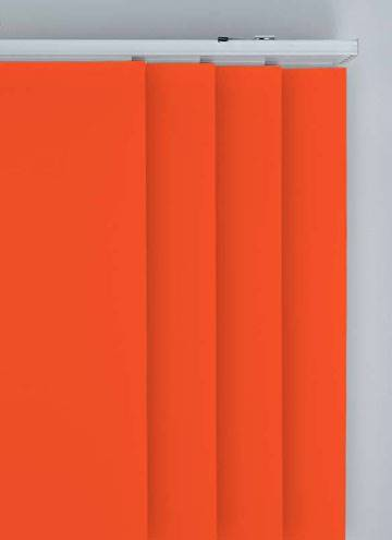 Panel Blinds Bella Blackout Bright Orange