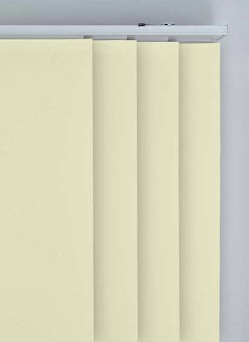 Panel Blinds Bella Blackout Cream