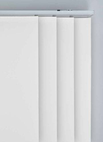 Panel Blinds Bella Blackout Frost White