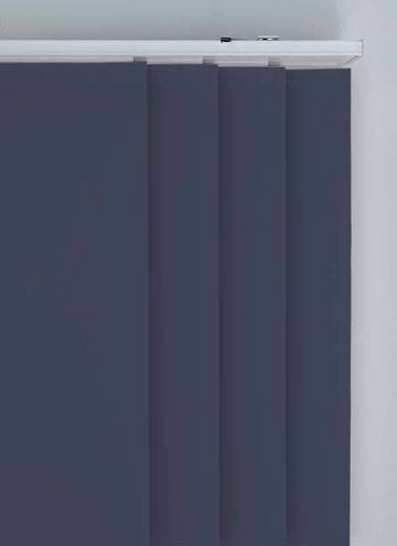 Panel Blinds Bella Blackout Indigo Blue