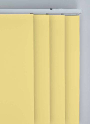 Panel Blinds Bella Blackout Mellow Yellow