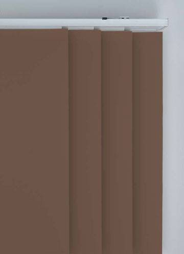 Panel Blinds Bella Blackout Mocha Brown