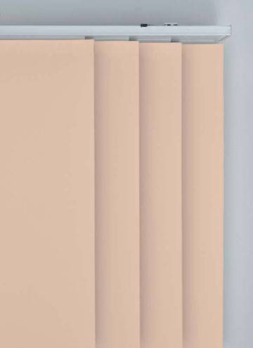 Panel Blinds Bella Blackout Rose Gold