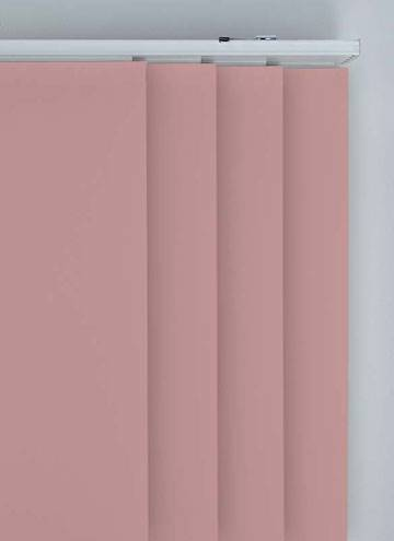 Panel Blinds Bella Blackout Rosewood Pink