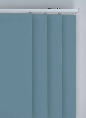 Panel Blinds Bella Blackout Smoke Blue