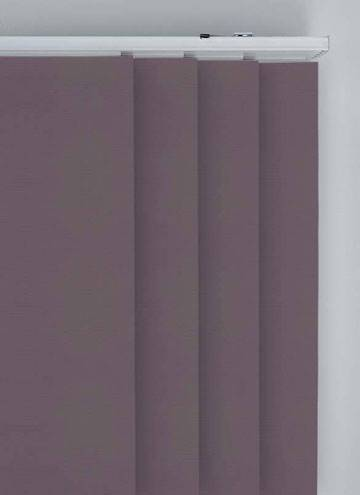 Panel Blinds Bella Blackout Smokey Purple