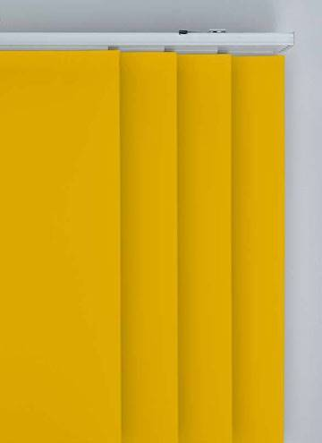 Panel Blinds Bella Blackout Solar Yellow