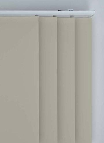 Panel Blinds Bella Blackout Taupe Brown