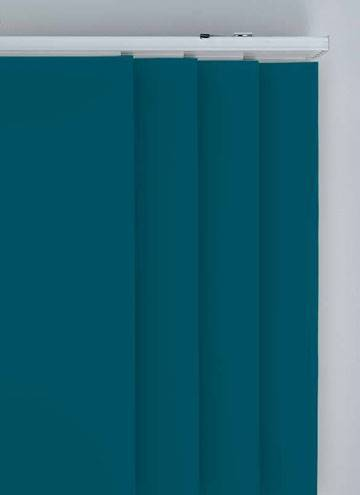 Panel Blinds Splash Dark Teal Blue