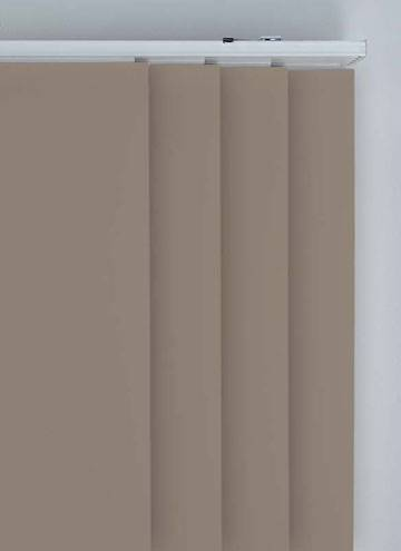 Panel Blinds Splash Latte Brown