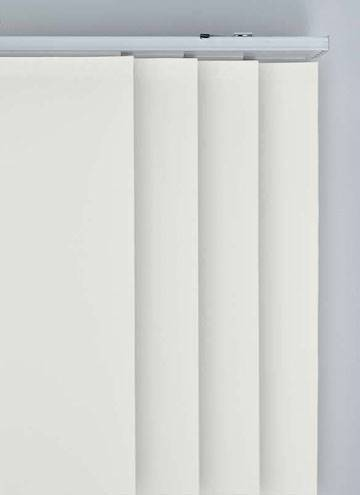 Panel Blinds Splash Paper White